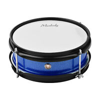 """Muslady 8"""" Snare Drum Head with Drumsticks Shoulder Strap for Student Band I7S1"""
