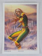 2005 ROGUE X-MEN ART PRINT BY CERI PASHLEY 12X16