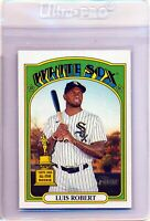 2021 Topps Heritage Luis Robert #33 Rookie Cup || Chicago White Sox