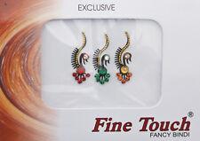 Bindi bijou de peau front bollywood multicolore dot tilak INF D 844