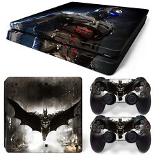 Sony PS4 Slim Console and Controller Skins / Decal -- Batman (S-0074)