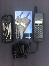 VINTAGE SONY ERICSSON GH388 Phone ,CHARGER,BOOKLET AND CASE