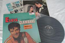 Elvis Original_1967_Clambake Lp_Shrink_Bonus Photo_Rca Lsp-3893_Nm-!