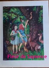 Blanche-Neige et Rouge-Rose,  Arthur Felix Joseph TREICHLER dit DAVANZO  1950