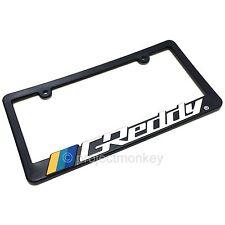 Greddy Logo License Plate Frame Black Plastic Number Tag Holder Genuine Part JDM