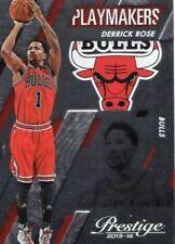 Panini Chicago Bulls NBA Basketball Trading Cards 2015-16 Season