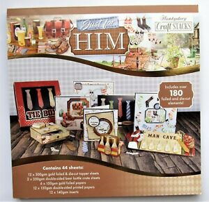 Hunkydory Just For Him Craft Stack