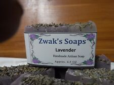 French Lavender Handmade Soap With Shea Butter and Goats Milk