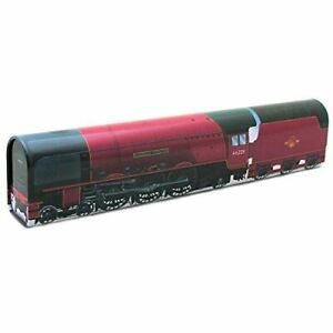 Duchess of Hamilton Red Metal Train Storage Tin