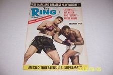 1969 The Ring ROCKY MARCIANO Heavyweight Champion 1923-1969 16 page SPECIAL