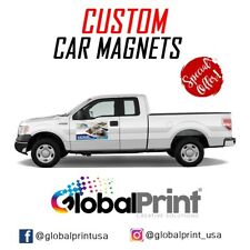 Custom Car Magnets  Magnetic, Auto -Truck Signs (2)18x24 Inches Full Color