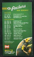Green Bay Packers--2015 Magnet Schedule--Cenex/Bellin Health