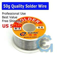 63/37 Tin Lead Line Soldering 0.6mm Rosin Core Solder Flux Welding Wire Reel Hot