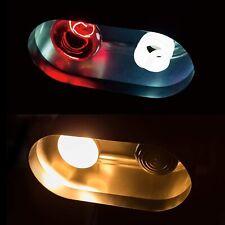 New listing Reptile Light Fixture Deep Dome Dual Lamp Fixture, Tropical Uvb Light
