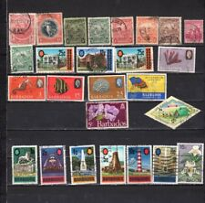 Barbados - Lot Of Early Used Stamps {BAR15}