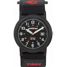 Timex Expedition T40011 Camper & Canvas Fast Wrap Strap Watch No 5914