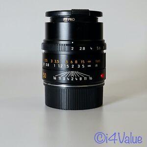 L@@K! Leica APO-Summicron-M 50mm f/2 ASPH. Lens