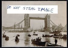 London Postcard (Read Description) 1894 Tower Bridge Opening By Prince Of Wales
