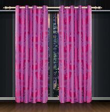 Dolce Mela Damask Window Treatments, Single Panel Grommet Drapes, Cliodna DMC461