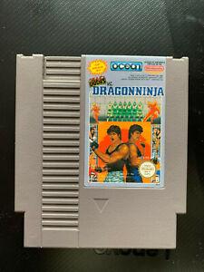 Bad Dudes Dragon Ninja Nintendo NES PAL