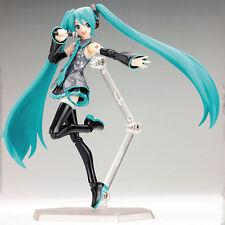 Anime VOCALOID Hatsune Miku PVC Action Figure Figma Manga Toy 15cm/6'' In box