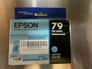 Epson Claria 79 High-Capacity color print ink cartridges Cyan