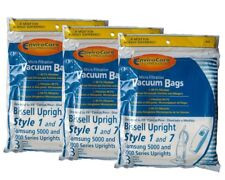 9 Bissell 840, 30861, 32120 Upright Style 1 and 7 micro filtration Vacuum Bags