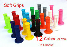 Colored Soft Rubber Hand Grip Throttle Grip Pit Dirt Bikes ATV Motorcycle 22MM
