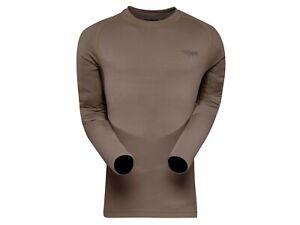 Sitka Gear Men's Core Lightweight Crew Shirt Long Sleeve (Size Small) (Pyrite)