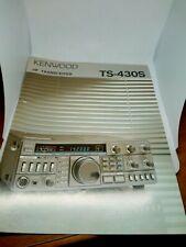 KENWOOD TS-430S BROCHURE ORIGINALE RADIO HF