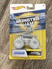 Hot Wheels Monster Jam Silver Collection AVENGER 25th Anniversary