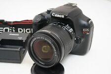 [Fast Neu] Canon EOS Kiss X50 / EOS Rebel T3 1100D 12.2MP W/18-55mm Objektiv