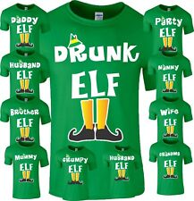 Funny Family Elf Christmas T-Shirt Novelty Pyjama PJ's Idea Kids Adult Unisex