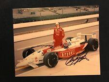 Arie Luyendyk Signed Indy 500 Indianapolis 1996 Auto 8 X 10 Photo
