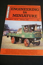 January Monthly Engineering in Miniature Craft Magazines