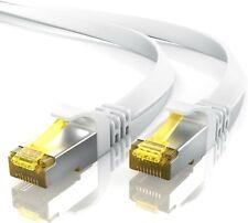 Primewire - Câble réseau Cat 7 Plat de 30m - Câble Ethernet - Gigabit réseau