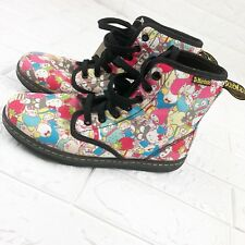 Doc Dr. Martens Sanrio Hello Kitty Boots Rare 2010 Edition Size 7 US 5 UK