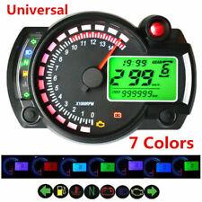 Universale moto digitale LCD speedometer Keenso moto tachimetro velocit/à manometro 160/kmh DC12/V