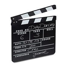 Filmklappe schwarz Regieklappe Synchronklappe Szenenklappe Clapboard Hollywood