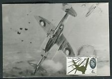Royaume Uni - Carte maximum 1966 - La Bataille d 'Angleterre , aviation