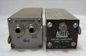 Altec Model 455BX Amplifier==W/ Lynch Module