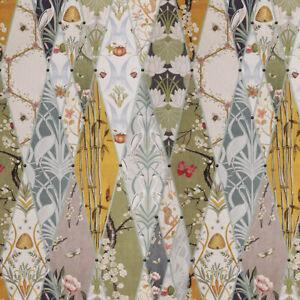 Nouveau Wallpaper Curtain Fabric Belfield Home The Chateau by Angel Strawbridge