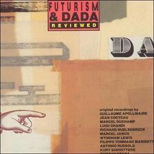 Futurism & Dada CD MARCEL DUCHAMP JEAN COCTEAU TRISTAN TZARA KURT SCHWITTERS