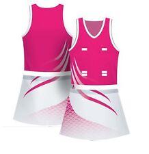 Full custom made netball tops & skirt