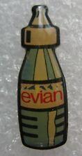 Pin's Boisson Eau Minerale petite Bouteille EVIAN #712