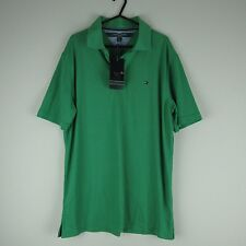 "Tommy Hilfiger Golf Polo S Pit-PIT 21.5"" Verde Para Hombre/Deportes/Golf/verano/activo"