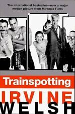 TRAINSPOTTING by Irvine Welsh paperback book FREE SHIPPING train spotting boyle