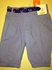 *NWT GYMBOREE* Girls SPARKLE SAFARI Purple Capri Pants Mock Belt on Front 12-18M