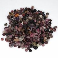 1/2 Lb Lots Tumbled Natural Tourmaline Crystal Stones Polished Minerals