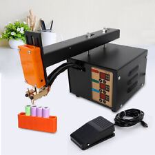 Adjustable Battery Pack Spot Welder Machine With 3 Soldering Pin Ac110v 3kw